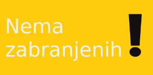 Logo for Nema zabranjenih!